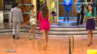 getlinkyoutube.com-Maritere Alessandri Sexy Vestido Entallado