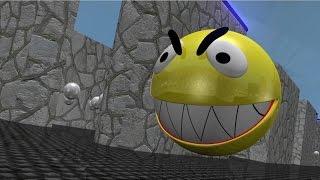 getlinkyoutube.com-Pacman 3D