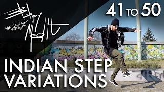Breakdance Toprock tutorial • 50/100 Indian Step Variations • Bboy MeditRock width=