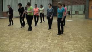 getlinkyoutube.com-CHARLIE'S CHA - Line Dance