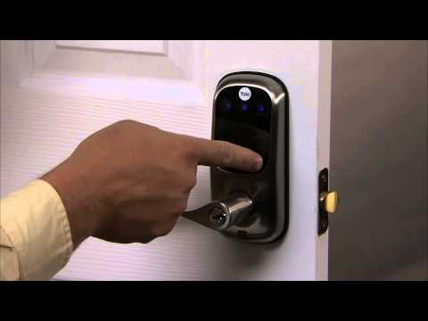Yale Real Living Touchscreen Lever Lock Programming - Auto Re-lock 04
