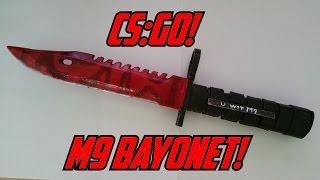getlinkyoutube.com-Paper CS:GO M9 Bayonet (Slaughter) +STRESS TEST