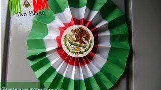 getlinkyoutube.com-@xoOlexiitOo... ❥DIY: Adorno para fiestas Patrias:  Rosetas  o escarapela
