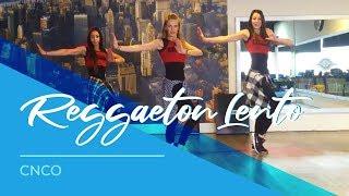 getlinkyoutube.com-Reggaeton Lento - CNCO - Easy Fitness Dance Choreography
