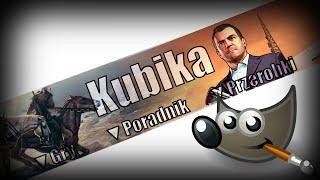 getlinkyoutube.com-Poradnik - Jak zrobić tło na YouTube w Gimpie ? (Dawniej Kubika)