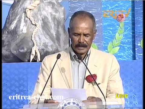 Eritrean President Isaias Afewerki Speech at 20 Sene 2014 Ceremony in Asmara