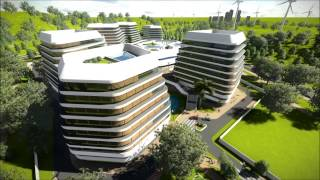 getlinkyoutube.com-Lumion + SketchUp - Guangdong Patent Examination Office Complex