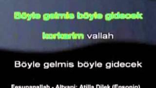 Erkin Koray Fesupanallah Karaoke