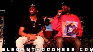 DJ UNIQUE INTERVIEWS COKY BRICKS live @ #eleganthoodness