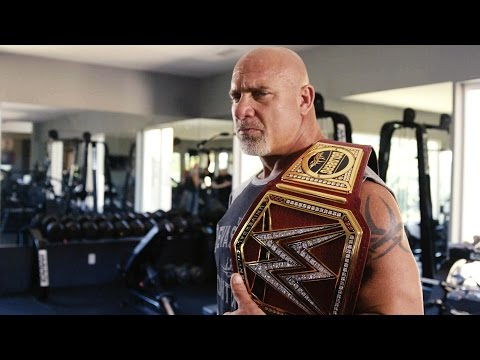 Inside Goldberg's WrestleMania 33 workout