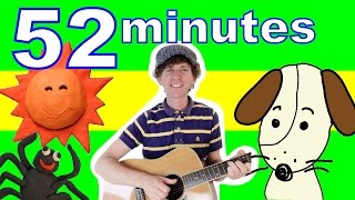 getlinkyoutube.com-BINGO Song and More | 52 Minutes Super Kids Songs Collection with Matt