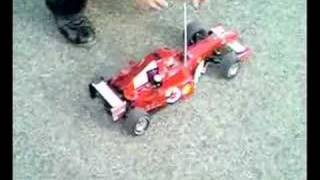 getlinkyoutube.com-Ferrari F2004 RC - Test prova