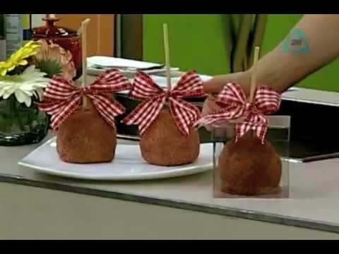 Cocinemos Juntos-Manzanas cubiertas con chamoy