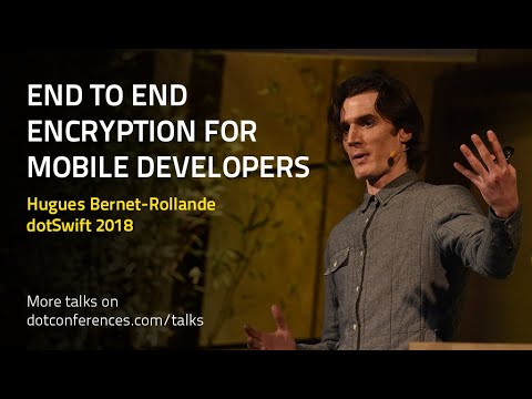End to End Encryption for Mobile Developers