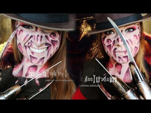 Freddy Krueger Makeup Tutorial (NO LATEX, NO MESS! Drugstore Products)