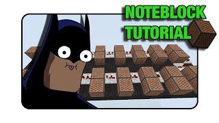 """Batman Doorbell - Note Block """"Tutorial"""" (Minecraft Xbox/Ps3)"""