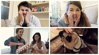 getlinkyoutube.com-Christmas Presents with Zoella, PewDiePie & Marzia | Vlogmas