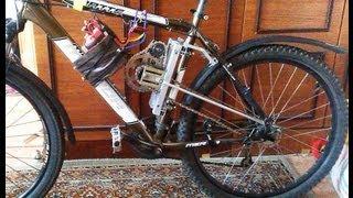 Своими руками электровелосипед 62 км/ч How to make electro bike with his hands 62 km/h