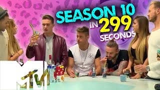 getlinkyoutube.com-GEORDIE SHORE SEASON 10 IN 299 SECONDS! | MTV