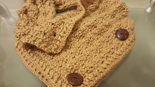 getlinkyoutube.com-👩cuello bufanda en crochet paso a paso