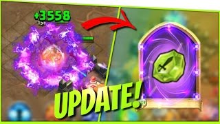 getlinkyoutube.com-➤ UPDATE Gem ROLLING + New HERO Gameplay | Revenant/Wiedergänger bekommen ಠ Castle Clash | RaeshCor