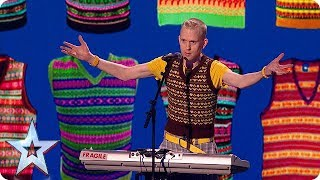 Has Robert White saved his most HILARIOUS routine for The Final? | The Final | BGT 2018