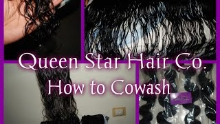 getlinkyoutube.com-♥Queen Star Hair Co| Malaysian Body Wave| Co-wash|AliExpress♥
