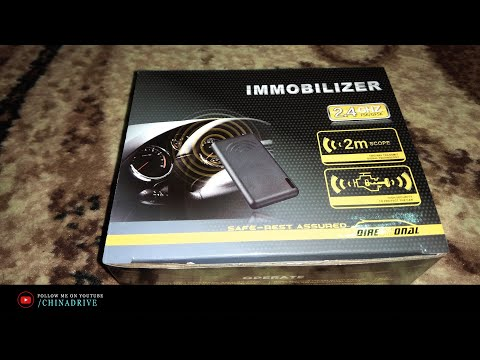 Автомобильный Иммобилайзер - Подключение - Geely CK