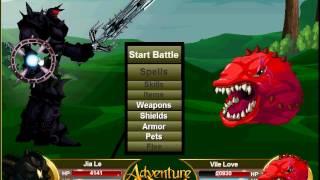 getlinkyoutube.com-AQ   Adventure Quest   Battleon   Snugglefest 2015!
