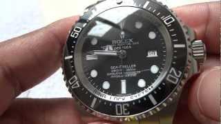 getlinkyoutube.com-ROLEX DEEPSEA SEA DWELLER - HD - 2012