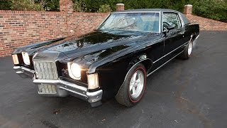 getlinkyoutube.com-1972 Pontiac Grand Prix for sale Old Town Automobile in Maryland
