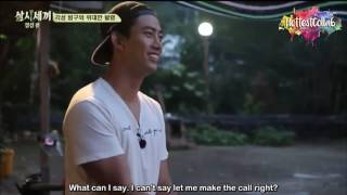 getlinkyoutube.com-taecyeon got to crazy about park shin hye | 3 meals a day s2