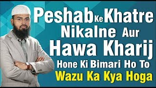 getlinkyoutube.com-Peshab Ke Khatre Nikalne Aur Hawa Kharij Hone Ki Bimari Ho To Wazu Ka Kya Hoga By Adv. Faiz Syed