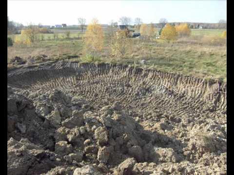 działka kopanie stawu