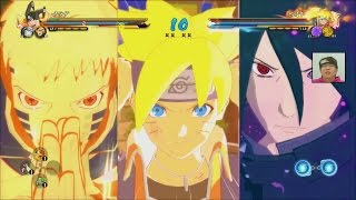 getlinkyoutube.com-NEW TEAM ULTIMATE JUTSU! Hokage Naruto-Sasuke, Naruto Jacket Boruto | NARUTO Storm 4 Road to Boruto