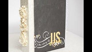 Relationship or Wedding Scrapbook Album