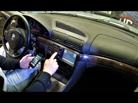 BMW E38 как подключиться к штатной магнитоле!