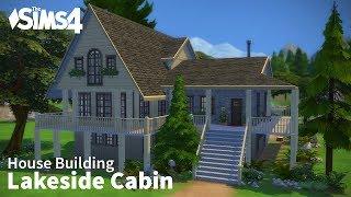 getlinkyoutube.com-The Sims 4 House Building - Lakeside Cabin