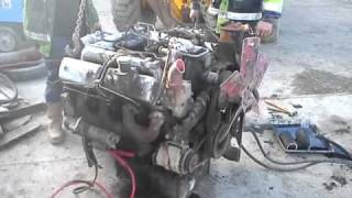 getlinkyoutube.com-FORDSON MAJOR V8 CONVERSION (FIRST START )