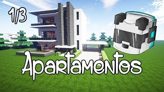 getlinkyoutube.com-Edificio de apartamentos Minecraft 1/3