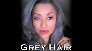 getlinkyoutube.com-Grey/Silver Hair   Wella 050