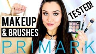 getlinkyoutube.com-Testing Primark Makeup & Brushes: Review, Haul & Makeup Look / Tutorial 2016 | KatesBeautyStation