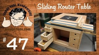 getlinkyoutube.com-SNW47- Build your own Festool CMS style homemade router table with sliding table