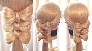 """Оформление хвоста - """"Банты"""" - Hairstyles by REM"""