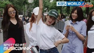 [Spotted at Music bank] 뮤직뱅크 출근길 -MONSTA X, Apink, Lee HyoRi, NCT 127 [2017.07.07]