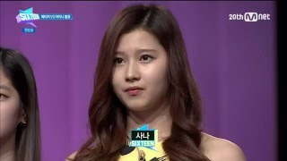 "getlinkyoutube.com-[150505] 식스틴 E01 사나 하이라이트 (TWICE Sana, ""SIXTEEN"" E01. Highlight)"