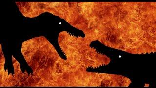 getlinkyoutube.com-Jurassic Rage!!! Spinosaurus vs Deinosuchus