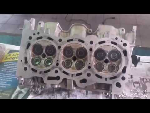 2GR-FE (cylinder head valve installation and torque spec)rebuild and repair engine knock (PART 4)