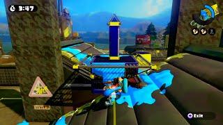 getlinkyoutube.com-Splatoon - Piranha Pit - Tower Control Glitch (Boneless Inklings)