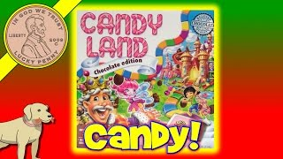 getlinkyoutube.com-Candy Land Chocolate Edition Family Game Night Board Game King Kandy's Castle To Win